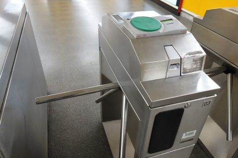 madrid-metro/カードリーダー