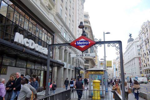 madrid-metro/入口