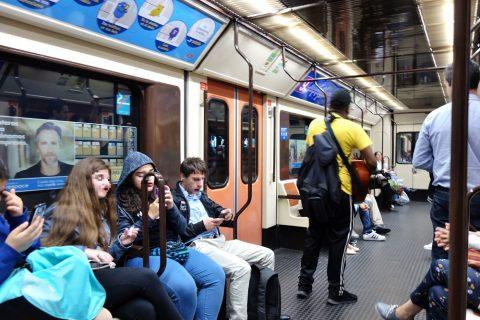 madrid-metroの治安
