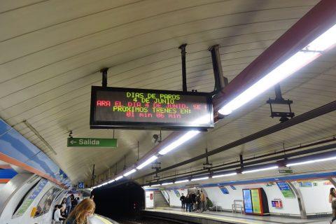 madrid-metro/運転間隔