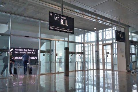 ミュンヘン空港ゲートK