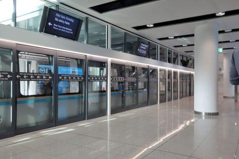 ミュンヘン空港ターミナル移動シャトル