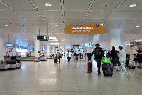 ミュンヘン空港のイミグレ