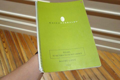 セラルボ美術館のガイドブック