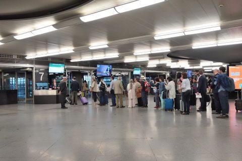 Renfe入場ゲート/アトーチャ駅