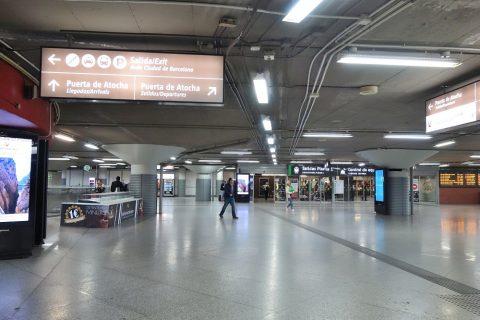 アトーチャ駅の構内