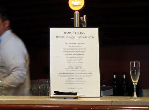 テアトロレアル/Barのメニュー
