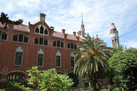 サンパウ病院の景観