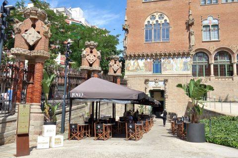 サンパウ病院のカフェ
