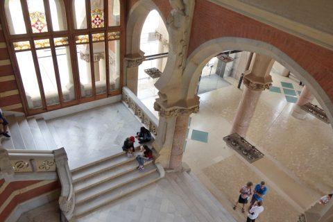 サンパウ病院の階段