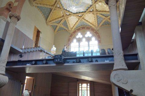 Hospital-de-Sant-Pau/多目的ホールの2階席