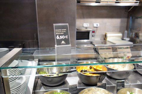 La-Placa-Gastro-Mercat/サラダの値段