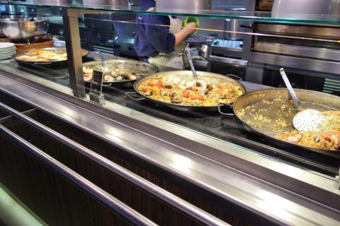 La-Placa-Gastro-Mercat/パエリアは4種類