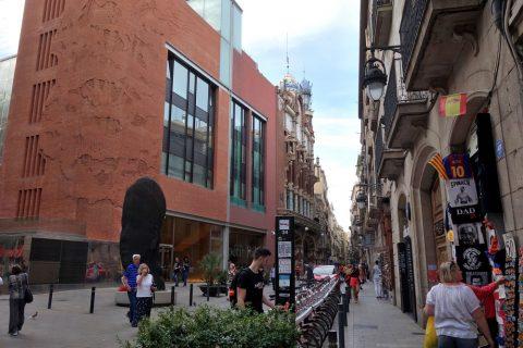 カタルーニャ音楽堂へのアクセス