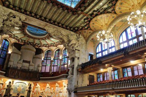 カタルーニャ音楽堂の景観