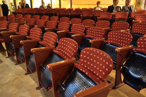 カタルーニャ音楽堂のシート
