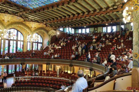 最上階の席/カタルーニャ音楽堂