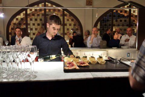 カタルーニャ音楽堂の軽食