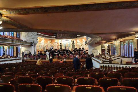 カタルーニャ音楽堂/ホールへの入場