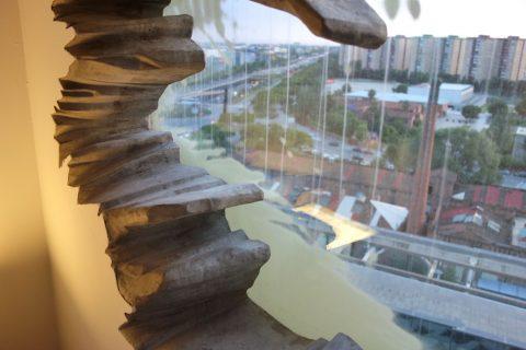 Renaissance-Barcelona-Fira/窓からの眺め