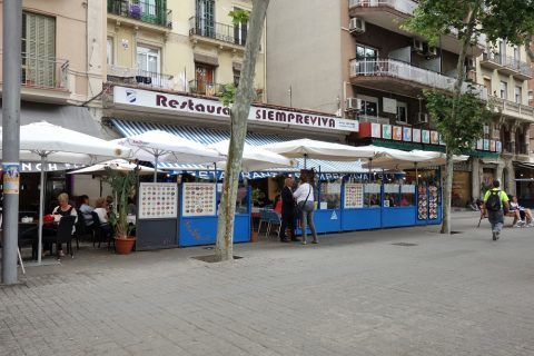 SIEMPREVIVA-barcelona/店頭