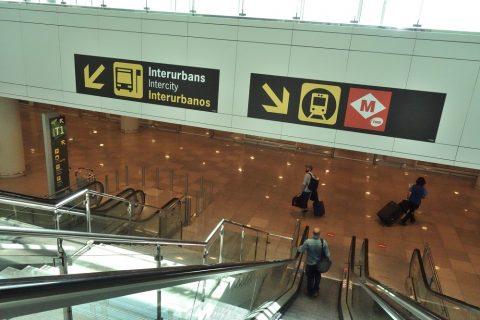 バルセロナ空港T1レベル0