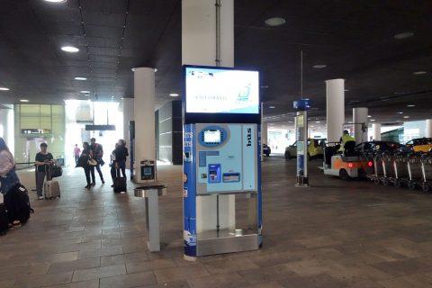 aerobus-barcelona/券売機
