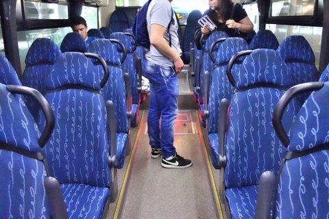 aerobus-barcelona/後部座席