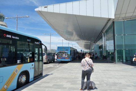 バルセロナ空港アクセスバス