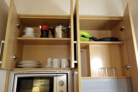 apart-hotel-silver/食器棚