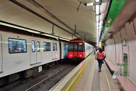 barcelona-metro/ホーム