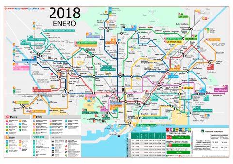 barcelona-metro-map