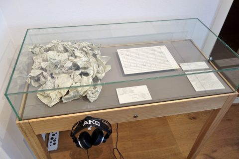 beethoven-museum-wien/直筆の楽譜