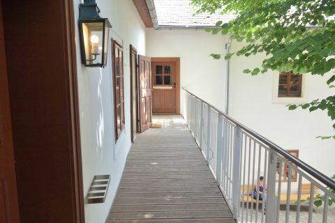 beethoven-museum-wien/2階の通路