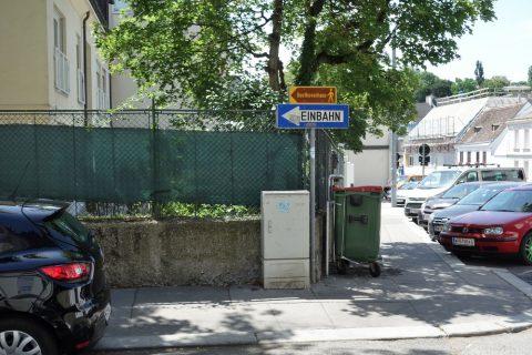 ベートーヴェンハウスの看板