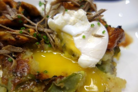 ca-la-nuri-barcelona/半熟卵とトリュフ