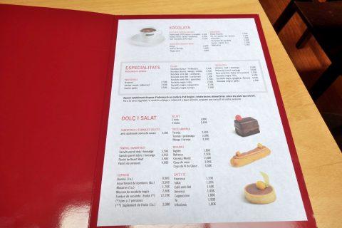 cacao-sampaka-barcelona/メニュー