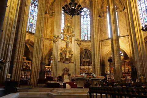 祭壇/バルセロナ大聖堂