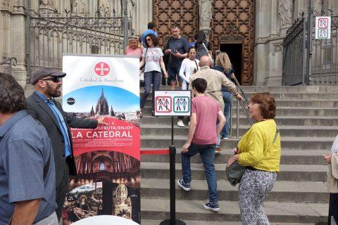 バルセロナ大聖堂服装