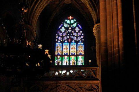 ステンドグラス/バルセロナ大聖堂