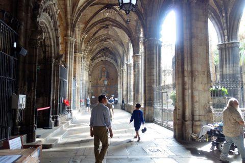 回廊/バルセロナ大聖堂