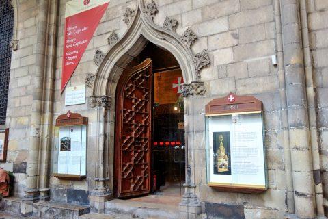 バルセロナ大聖堂のミュージアム