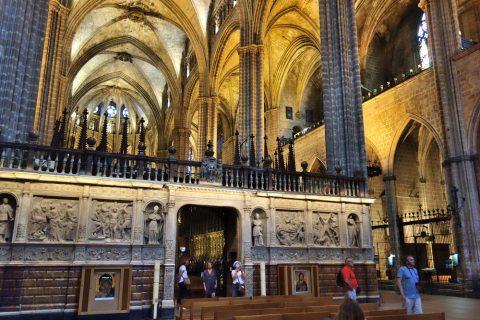 バルセロナ大聖堂/聖歌壇
