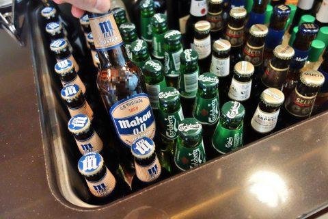 dali-vip-lounge-madrid/スペインのビール
