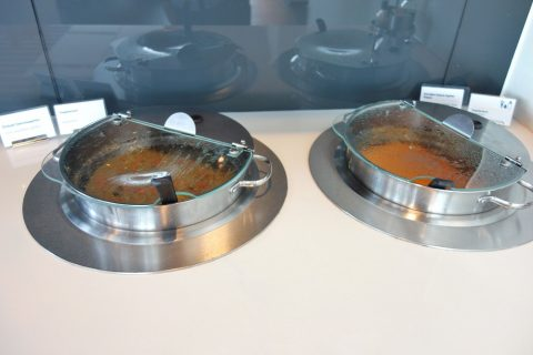 frankfurt-airport-lufthansa-business-lounge/スープ