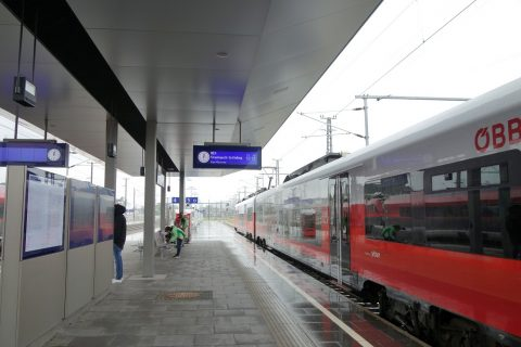 Attnang-Puchheim駅REXホーム