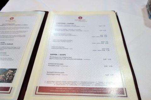heritage-hotel-restaurant/前菜メニュー