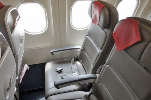 イベリア航空のシート