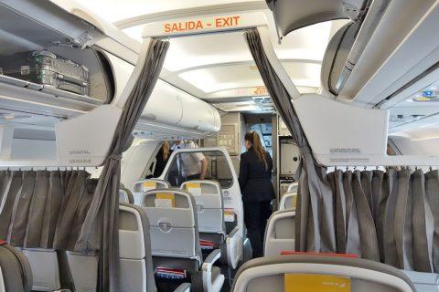 イベリア航空ビジネスクラスシート