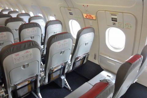 イベリア航空の非常口座席
